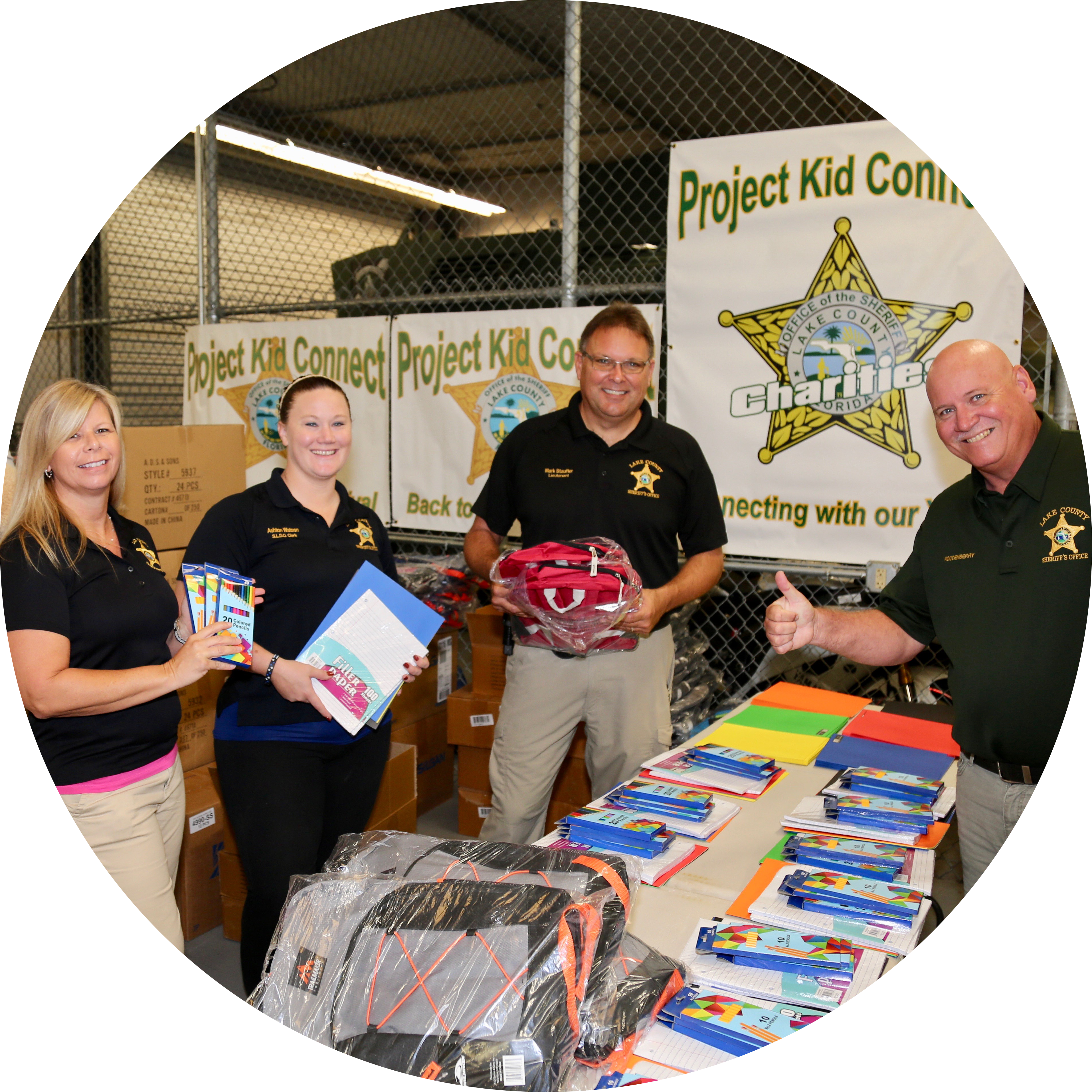Donate to the Lake County Sheriff's Charities to benefit local children in our community